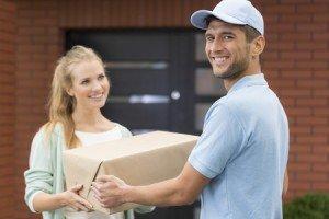 sendungsverfolgung paketverfolgung zusteller mit paket